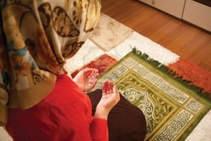 Muslim Woman Praying