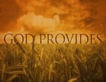 'GOD' 'ALWAYS' 'PROVIDES' - Philippians 4 verse 19